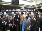 Khan Vs Barrera Weigh In 2 2