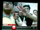 Me On CNN IBN During The Fire Which Took Place In Nandram Market