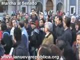 Marcha Al Senador.23 De Octubre 2008