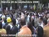 Marcha 28 De Septiembre De 2008