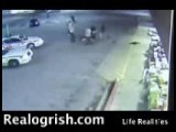 Ogrish Courageous Customer Tackles And Beats Robber Realogrish.com