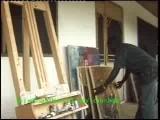 Profile Of James Cudjoe, African Artist, African Paintings