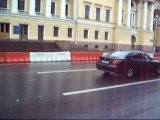 Russian Police Mercedes BMW