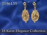 ShopNBC 18K Fancy Scroll Artform Dangle Earrings