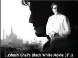Subhash Ghai' S Black & White Movie Still' S