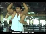 Sagi Kalev Muscle Worship Gym Training