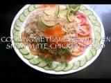 VIETNAMESE SNOW WHITE CHICKEN SALAD VIDEO