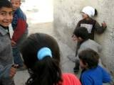 Young Palestinian Children From The Gaza Refugee Camp In Jerash, Jordan