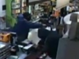 Clerk Takes Gun From Would-be Robber