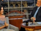 David Letterman - Julianna Margulies & Her Son's German Accent - Season 18 - Episode 3493