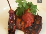 How To Make Moroccan BBQ Barbecue Salmon With Paprika Tomatoes