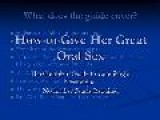Guide To Oral Sex On A Woman - Get The Right Cunnilingus Advice