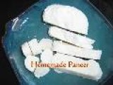 Homemade Paneer - Indian Cheese