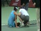 Injured Ana Ivanovic
