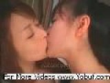 Japanese Lesbian Chicks Kissing Fucking & Having Orgasm Fun