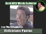 Nerd With Words Interviews Al Pacino!
