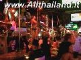 Patong Bangla Road Near Beach In Phuket Thailand With LadyBoy Shemale Katoi More Lady Bar