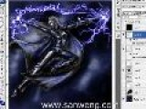 Storm Halle Berry Of X-men Photoshop Speed Painting